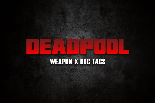 DEADPOOL WEAPON X LOGO